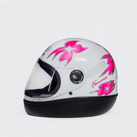 Capacete Original San Marino Formula 1 Branco C/ Flores