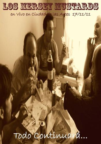 Los Mersey Mustards - Todo Continuará - Dvd