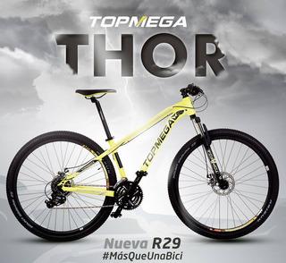 Bicicleta Top Mega Thor - Rodado 29 -original-río Negro/nqn