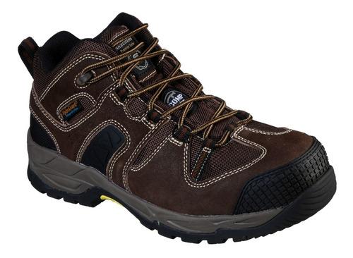 Zapato Botin De Seguridad Skechers Monter