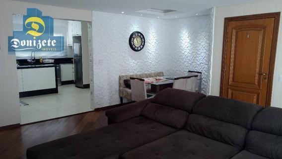 Apartamento À Venda, 130 M² Por R$ 735.000,00 - Vila Assunção - Santo André/sp - Ap3210