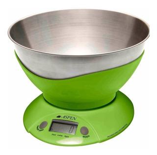 Balanza De Cocina Digital Aspen Ek 3555 Pesa Solido Liquido