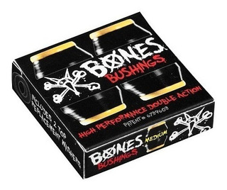 Bones Bushing Pack Medium Black Skate Bujes