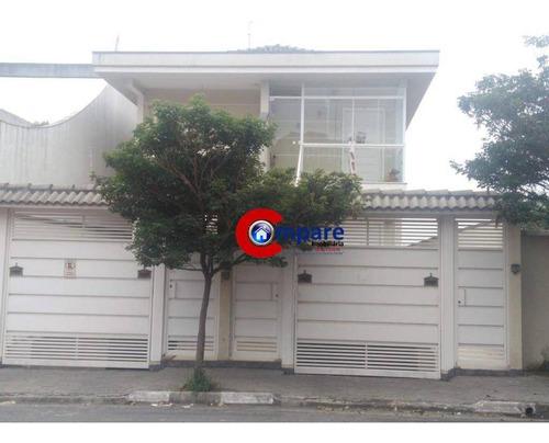 Casa Com 3 Dormitórios À Venda, 150 M² Por R$ 450.000 - Jardim Bom Clima - Guarulhos/sp - Ca1102