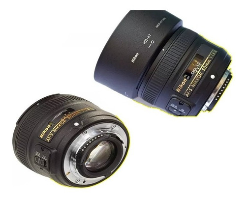 Lente Nikon 50mm F/1.8g Af-s Autofoco