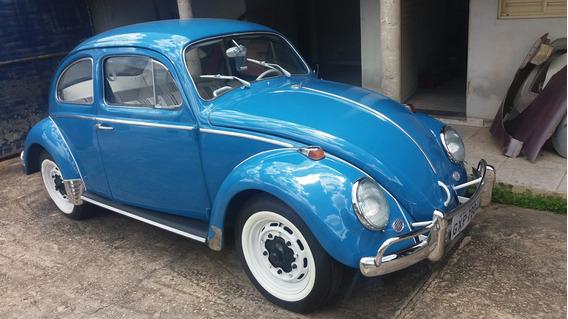 Fusca 1.300 Cor Azul 1965