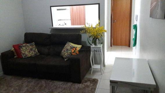 Apartamento Com 2 Dormitórios Sendo 1 Suíte - Condomínio Rio Sella - Nova Aliança - Ribeirão Preto. - Ap1021