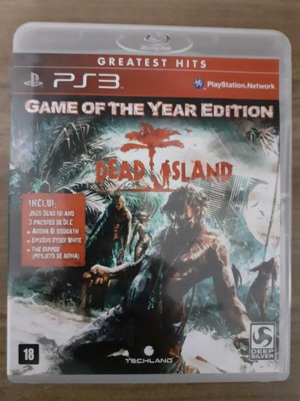 Jogo Dead Island Ps3 - Mídia Física