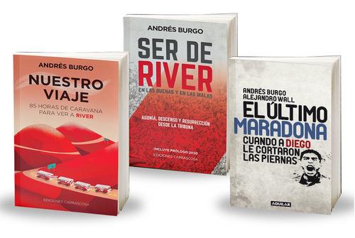 Imagen 1 de 4 de Pack River - Maradona (3 Libros Al Precio De 2)