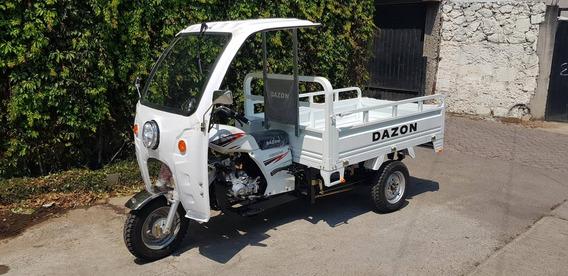 Motocarro Dazon Dz200mc Año 2019 Con Cabina Y Focos De Leds