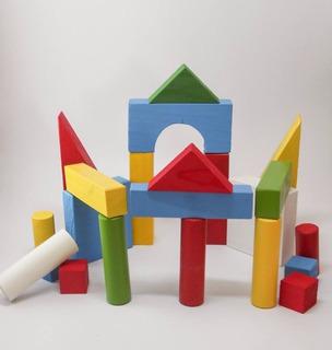 Juguete Didáctico De Madera (arquitecton Armable)