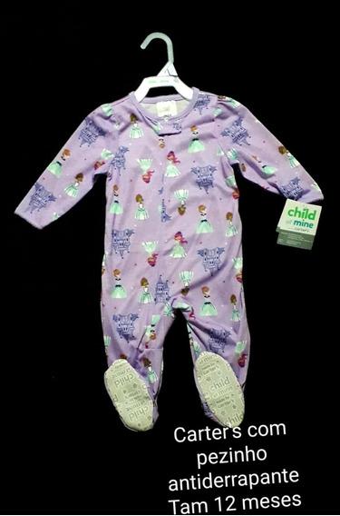 Macacão Carters Algodão Malha Pijama Importado Original