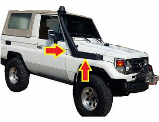 Toyota 4.5 Anfibio Snorkel Land Cruiser Repuesto Machito 4x4