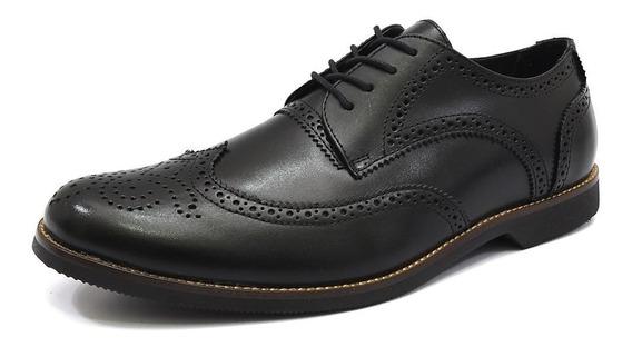 Sapato Oxford Masculino Shoes Grand Em Couro Legitimo