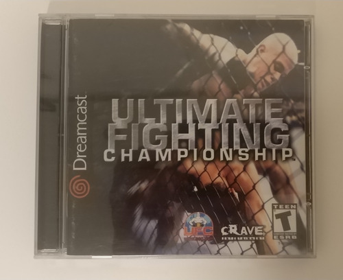 [dreamcast] Ultimate Fighting Championship - Completo