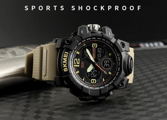 Relógio Ana-digi Tático Militar Outdoor Sport - Frete Grátis