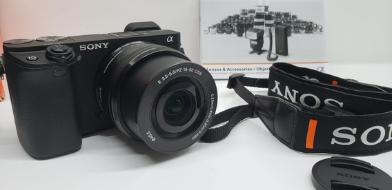 Camera Sony A6300l Com Lente 16-50mm