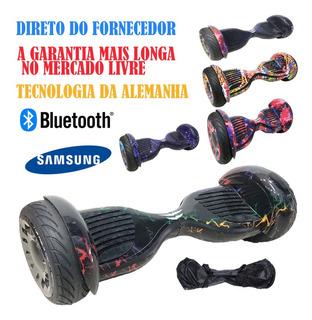 Usado 10 Led Hoverboard Skate Eletrico Bluetooth Bateria