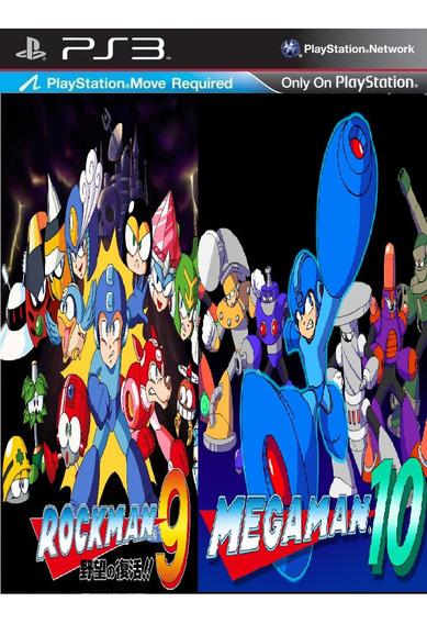 Mega Man 9 + Mega Man 10 Psn Ps3