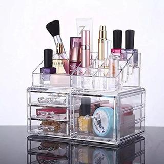 Organizador De Maquillaje Acrílico, Juego De 4 Cajones