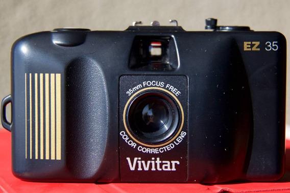 Câmera Vivitar Ez 35 - 35mm