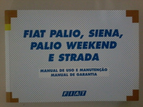 Manual Fiat Palio, Palio Weekend, Siena E Strada 2001