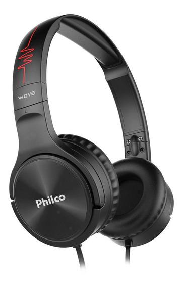 Headphone Philco Preto Pfo02p Bivolt