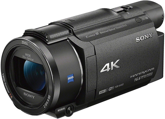 Câmera De Vídeo Hd Sony Fdrax53 / B