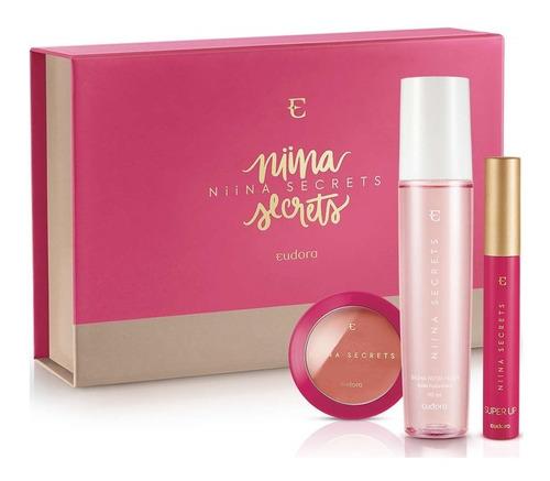 Niina Secrets - Kit Presente Pêssego + Box Exclusiva