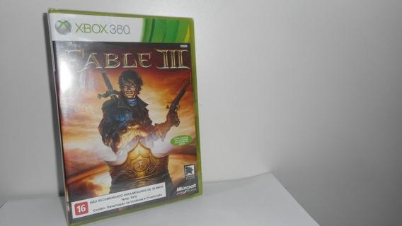 Fable Iii Xbox 360 Mídia Física Novo Lacrado