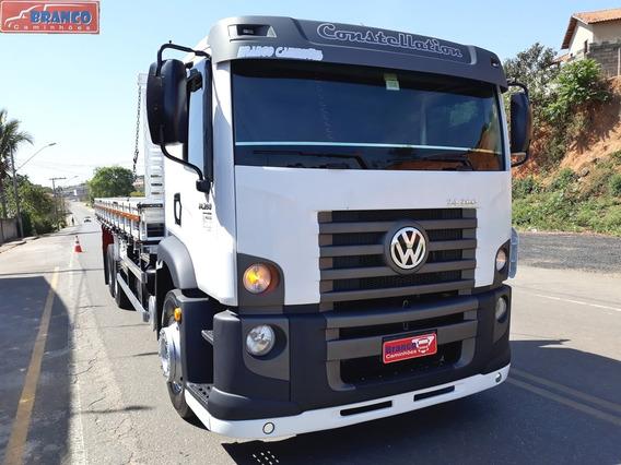Caminhão Vw 24280 2014, Cabinado, Único Dono, Impecável!!!