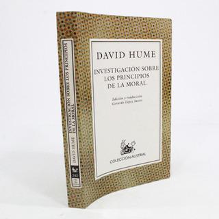 Investigación Sobre Los Principios De La Moral D Hume A6s