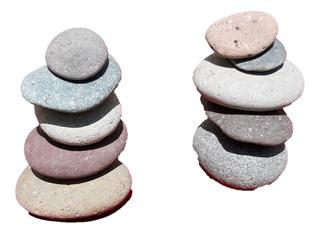 Piedra De Río, Bola, Decorativa Para Jardín Y Masajes 5kg