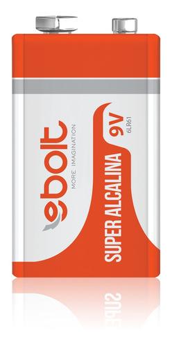 Imagem 1 de 3 de Bateria 9v Super Alcalina 6lr61 Ps-011c1 Ebolt