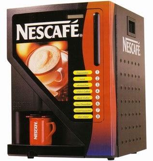 Máquinas Expendedoras Nescafé / Productos Nestlé