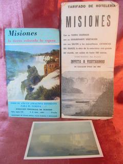 El Arcon Lote De Dos Folletos De Misiones Y Una Foto 37554