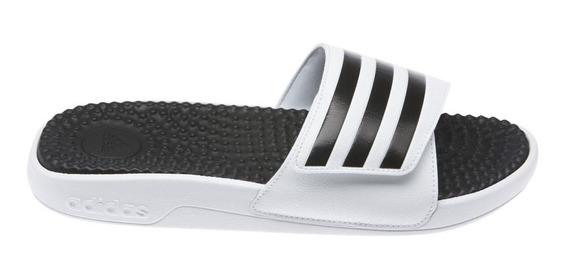Chinelo Slide Masculino adidas Adissage Branco F35563