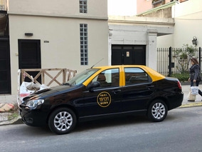 Taxi Fiat Siena 2013 Con Licencia ,escelente Estado ,98.000k