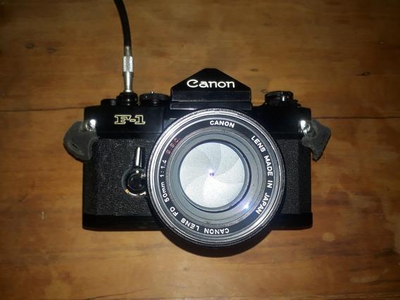 Canon F1 Com 50mm 1.4