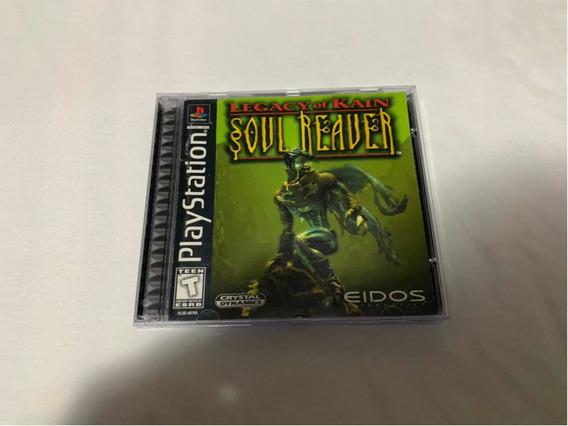Legacy Of Kain Soul Reaver Ps1 Original Americano