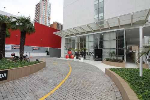 Sala Para Alugar, 42 M² Por R$ 1.800,00/mês - Centro - Curitiba/pr - Sa0133
