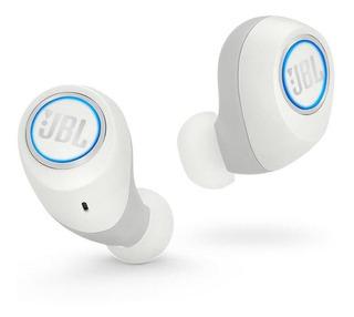 Audífonos Inalambricos Jbl Free X Sound Splashproof Blanco