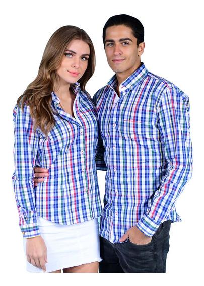Duo De Camisas Porto Blanco Mujer O Hombre Novios De-888