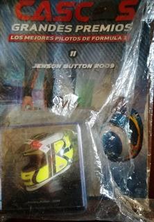 **lole ** Coleccion Cascos F1 J. Button 1/5 Spark ***