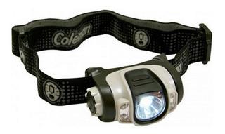 Lanterna De Cabeça Headlamp À Pilhas Coleman Led Ajustável