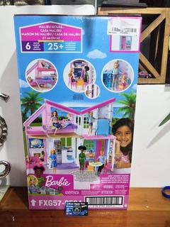 Muleca Barbie Casa De Playa Malibu.