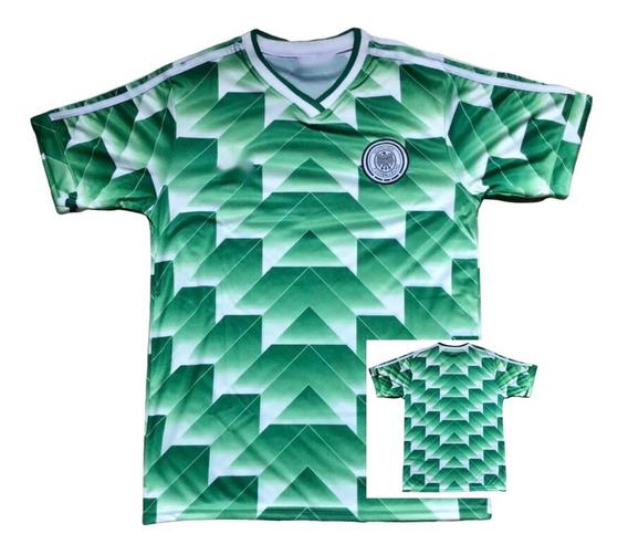 Camiseta Alemania Mundial 1990 Suplente Retro