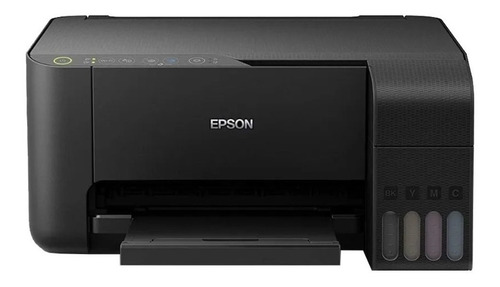 Imagem 1 de 4 de Impressora a cor multifuncional Epson EcoTank L3150 com wifi preta 220V