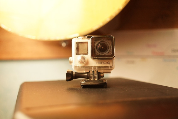 Go Pro Hero 4 Silver Action Camera Modelo Com Lcd