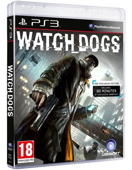 Jogo Watch Dogs Ps3 Disco Físico Novo Nacional Barato
